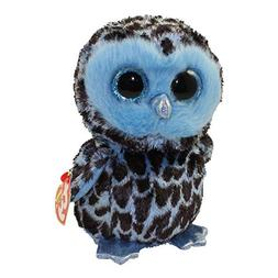"Ty Beanie Boos 6"" YAGO the Owl Stuffed Animal Plush Toy w/ H"