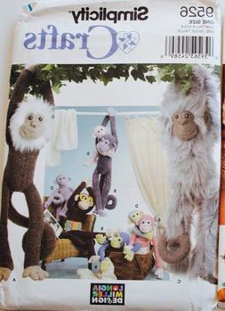 U PICK! Stuffed Animal Sew Pattern ~ Cats Dogs Monkeys Chick