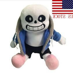 Undertale Sans Plush Stuffed Doll Toy Hugger Cushion Cosplay