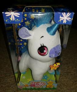 Wish Me Unicorn with Blue Hair & Horn