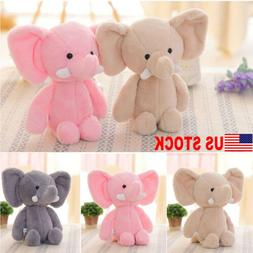US Kid's Mini Elephant Animal Plush Toys Soft Stuffed Plush