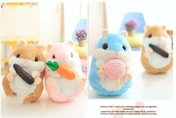 US Hamster Soft Plush Toys Stuffed Animals Doll Pillow Girls