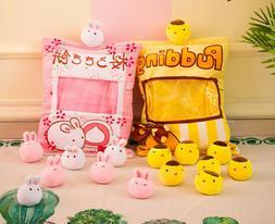 US Plush Stuffed Animal Imitation Snack Bag Cushion Toy Pill