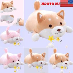 US Shiba Inu Dog Plush Pillow Cute Corgi Akita Stuffed Anima