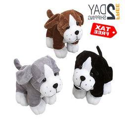 US Toy Sitting Puppy Dog Stuffed Animals Plush Assorted Colo