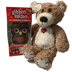 Valentine Day Gifts for Kids Her With Stuffed Animal and Cho