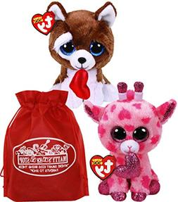 Ty Beanie Boos Valentine's 2019 Sweetums  & Smootches  Gift