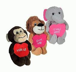 Plush Valentines Day Stuffed Animals Wild Safari Animals Lio