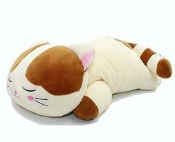 Vintoys Very Soft Cat Big Hugging Pillow Plush Kitten Kitty