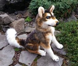 Viahart Hank The husky wolf dog Plush ~ Customized!