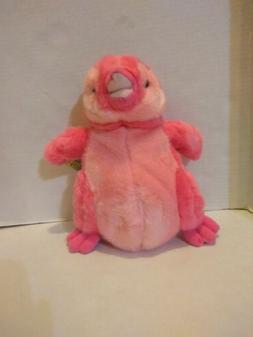 "Wild Republic Vibes Pink Penguin Stuffed Animal Plush 12"" NW"