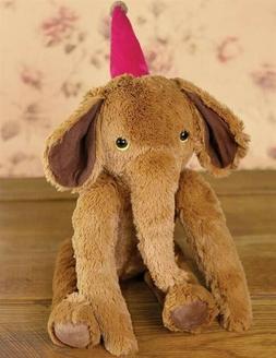 Victorian Trading Co Butterscotch the Elephant Plush Stuffed