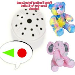 Voice Sound Recorder For Teddy Bears & Stuffed Animals,