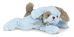 Bearington Baby Waggles Blue Plush Stuffed Animal Puppy Dog