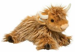 WALLACE the Plush HIGHLAND COW Stuffed Animal - by Douglas C