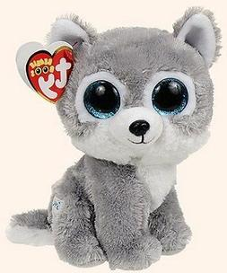 8ed321b0b82 Warrior the Wolf Beanie Boo by Ty - ... By Alexas Toys Gift Bundle