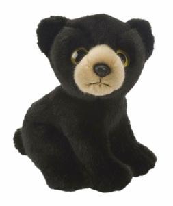 "Wild Republic Wild Watchers 7"" Bear Black"