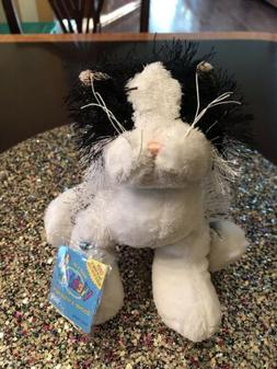 WEBKINZ BLACK AND WHITE CAT HM016 WITH SEALED CODE