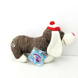 Webkinz Knit Sock Dog Ganz HM760 Code Brown Plush Toys Kids