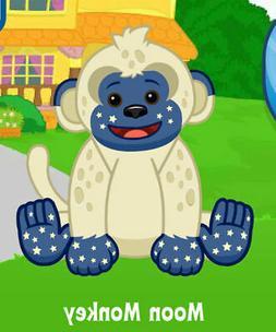 Webkinz Moon Monkey  !CREDIBLE Proven Seller!