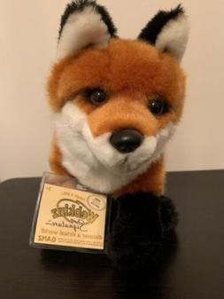 Webkinz SMALL Signature FOX.COMES with Unused/sealed CODE/TA