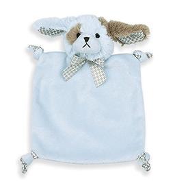 Bearington Baby Wee Waggles, Small Blue Puppy Stuffed Animal