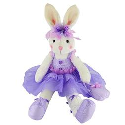 WEWILL Ballerina Bunny Stuffed Animal Original Adorable Soft