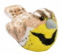 Western Meadowlark Audubon Bird w/ call stuffed animal plush