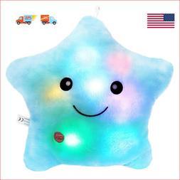 WEWILL Creative Glowing LED Night Light Twinkle Star Shape P