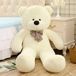 YXCSELL 6 FT 79 Inches White Super Soft Huge Plush Stuffed A