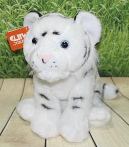 Wild Republic White Tiger Cub Plush, Stuffed Animal, Plush T