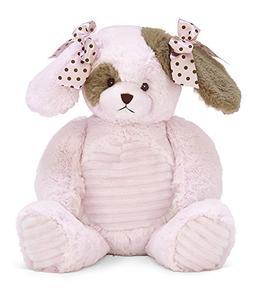 Bearington Baby Wiggles Hugs a Lot Stuffed Animal Pink Puppy