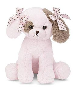 Bearington Baby Wiggles Lullaby, Animated Musical Pink Puppy