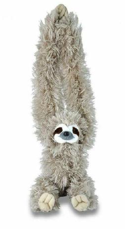 Wild Republic Hanging 3 Toed Sloth Kids Play Fun Stuffed Ani