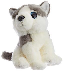 Wild Republic Wild Watcher 88802 Husky Dog Pug Plush Cuddly