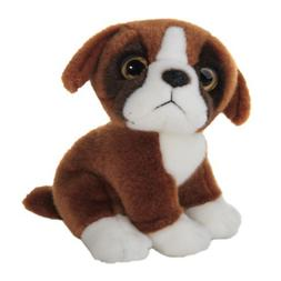 Wild Republic Wild Watcher 88803 Boxer Dog Pug Plush Cuddly