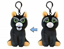 William Mark - Feisty Pets - Mini Black Cat: Katy Cobweb Plu