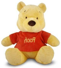 Disney Winnie The Pooh Bear Baby Rattle Plush Stuffed Animal