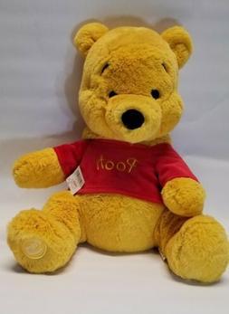"Disney Winnie the Pooh Plush 17"" Stuffed Animal Bear The Dis"