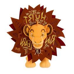 "Disney Wisdom Plush 16"" Simba The Lion King November Limit"