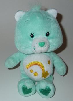 """8"""" Plush Care Bear Wish Bear"""