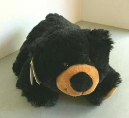 Wishpets Black Bear: Plush: SUPER DUPER SOFT: NWT:  Needs a
