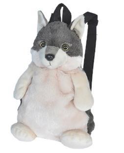 Wild Republic Wolf Backpack Plush