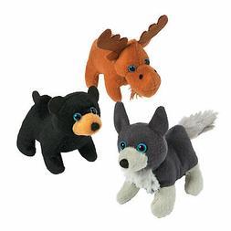 Woodland Stuffed Animals - Toys - 12 Pieces