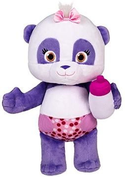 """Word Party - Lulu 10"""" Stuffed Plush Baby With Bottle - Snugg"""