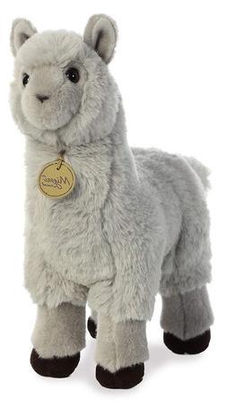 """Aurora World 26353 12"""" Alpaca - Grey, 12"""", Grey"""