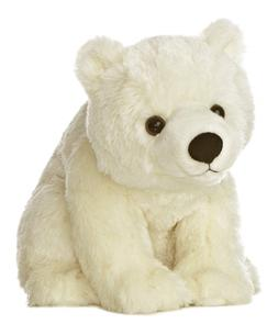 Aurora World Destination Nation Polar Bear Plush, 10""