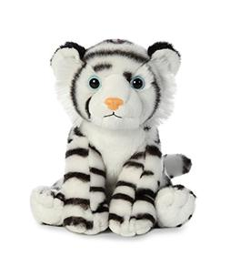 Aurora World Destination Nation White Tiger, Black/White, Sm