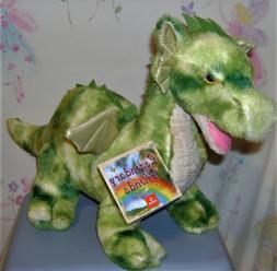 Aurora World Dragon Plush Vollenth The Green Gold Wings