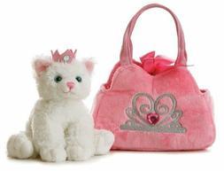 Aurora World Fancy Pal Princess Kitten Purse Pet Carrier Plu